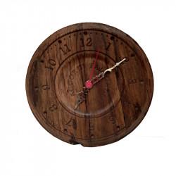 Orologio in noce nazionale antichizzato