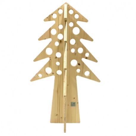 Albero di Natale in legno componibile