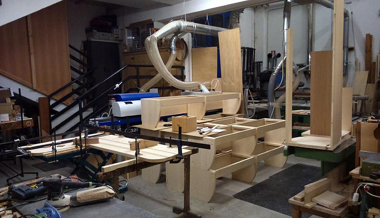 Produzione su misura di mobili